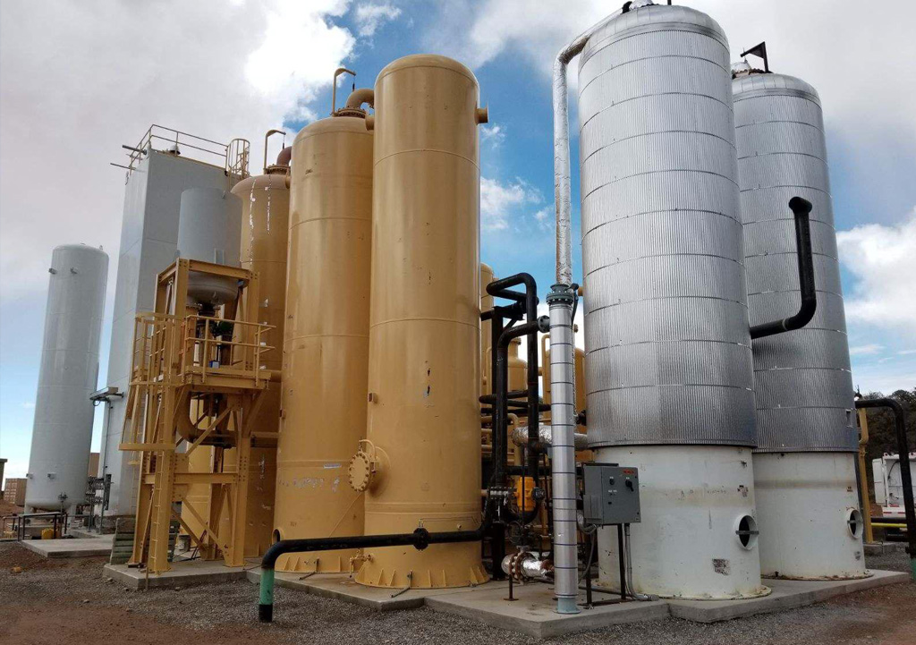 NASCO nimmt neue Helium-Anlage in Arizona in Betrieb